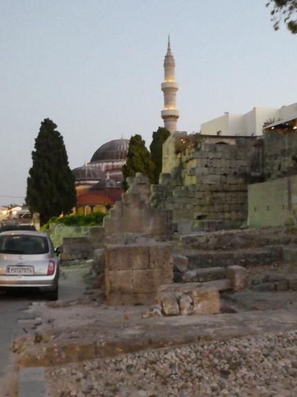 Suleiman Moské. Afrodites tempel